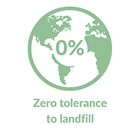 Zero tolerance to landfill